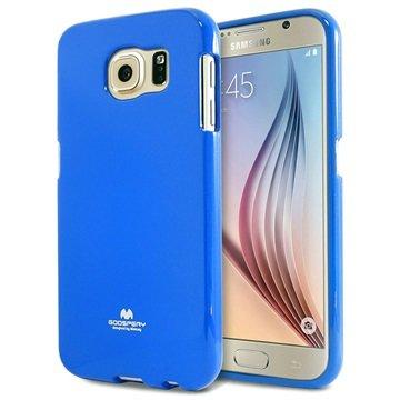 Samsung Galaxy S6 Mercury Goospery Jelly TPU Case Blauw