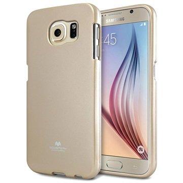 Samsung Galaxy S6 Mercury Goospery Jelly TPU Case Goud