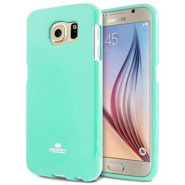 Samsung Galaxy S6 Mercury Goospery Jelly TPU Case Mintgroen