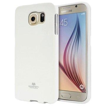 Samsung Galaxy S6 Mercury Goospery Jelly TPU Case Wit