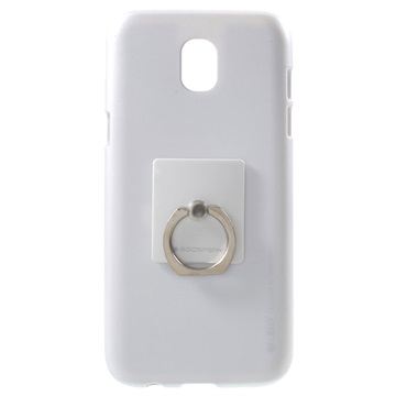 Samsung Galaxy J5 (2017) Mercury Goospery iJelly Ring TPU Case Zilver