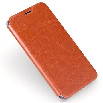 Samsung Galaxy J5 (2016) Mofi Rui Series Flip Case Bruin