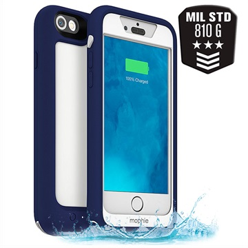 Mophie Juice pack H2PRO Blue iPhone 6-6S