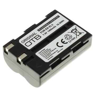 Nikon EN-EL3 Batterij - D100, D70s, D70, D50 - 1400mAh