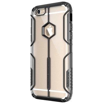 iPhone 6 Plus/6S Plus Nillkin Aegis Cover Doorzichtig / Zwart