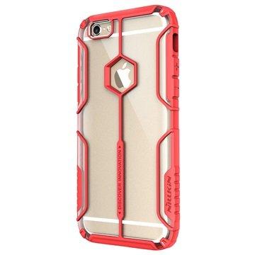 iPhone 6 Plus/6S Plus Nillkin Aegis Cover Doorzichtig / Rood