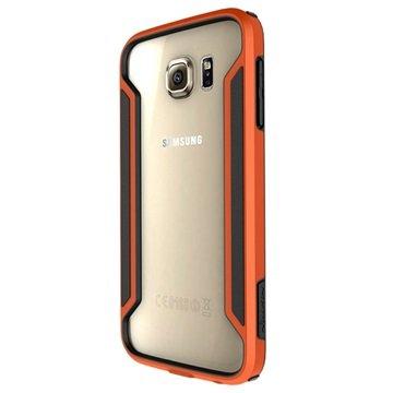 Samsung Galaxy S6 Nillkin Armor-Border Serie Bumper Oranje