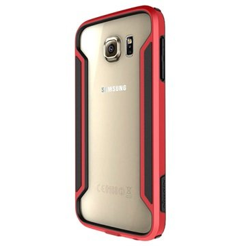 Samsung Galaxy S6 Nillkin Armor-Border Serie Bumper Rood