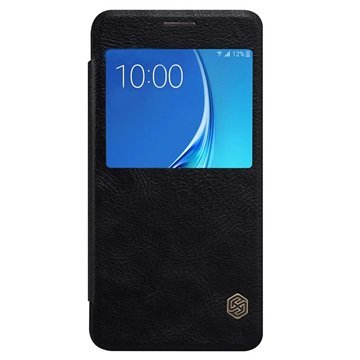 Samsung Galaxy J5 (2016) Nillkin Qin Smart Flip Case Zwart
