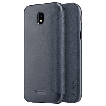 Samsung Galaxy J5 (2017) Nillkin Sparkle Flip Cover Zwart