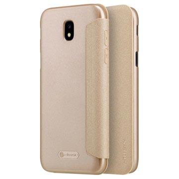 Samsung Galaxy J5 (2017) Nillkin Sparkle Flip Cover Goud