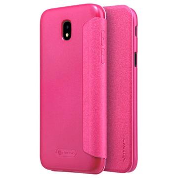 Samsung Galaxy J5 (2017) Nillkin Sparkle Flip Cover Roze