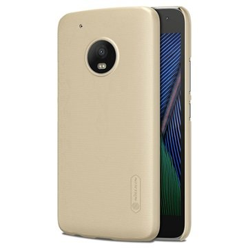 Motorola Moto G5 Plus Nillkin Super Frosted Cover Goud
