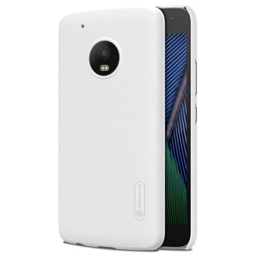 Motorola Moto G5 Plus Nillkin Super Frosted Cover Wit