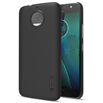 Motorola Moto G5S Plus Nillkin Super Frosted Shield Cover Zwart