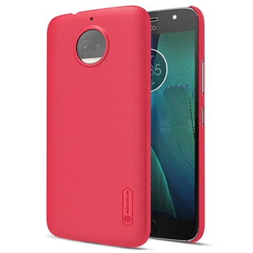 Motorola Moto G5S Plus Nillkin Super Frosted Shield Cover Rood