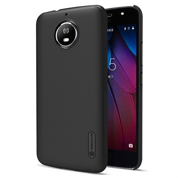 Motorola Moto G5S Nillkin Super Frosted Shield Cover Zwart