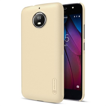 Motorola Moto G5S Nillkin Super Frosted Shield Cover Goud