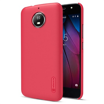 Motorola Moto G5S Nillkin Super Frosted Shield Cover Rood