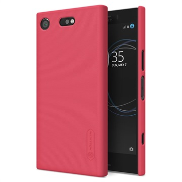 Sony Xperia XZ1 Compact Nillkin Super Frosted Shield Cover Rood