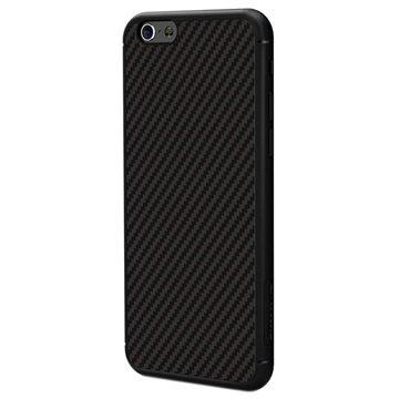 Nillkin Synthetische Vezel Harde Cover voor iPhone 6 Plus/6S Plus Zwart