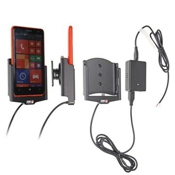 Brodit Active, Tilt Swivel, Molex Adapter System, 2A Charger, f-Nokia Lumia (513603)