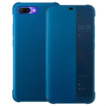 Huawei Honor 10 Smart View Flip Cover 51992479 Blauw