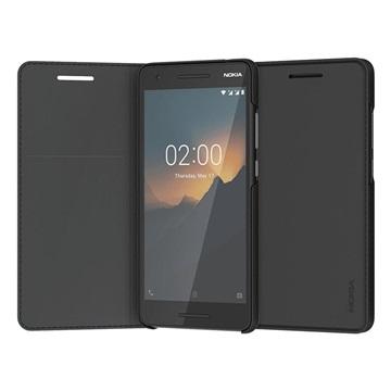 Nokia 2.1 Entertainment Flip Cover Zwart CP-220 voor 2.1