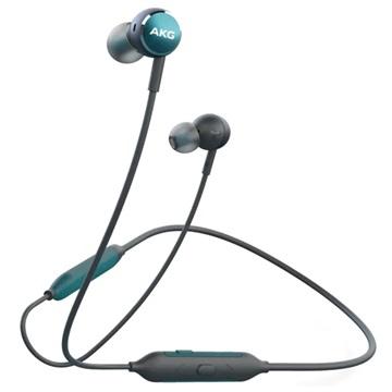 Samsung GP-Y100HAHHB mobiele hoofdtelefoon Stereofonisch Neckband Groen, Grijs Draadloos