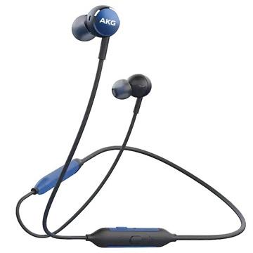 Samsung GP-Y100HAHHB mobiele hoofdtelefoon Stereofonisch Neckband Blauw, Grijs Draadloos