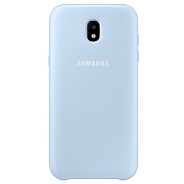 Samsung Galaxy J5 (2017) Dual Layer Cover blauw