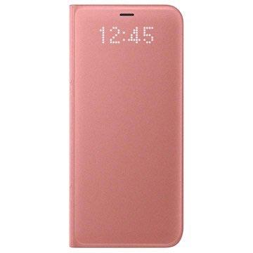 Samsung Galaxy S8 LED Flip Wallet Case EF-NG950PP Roze
