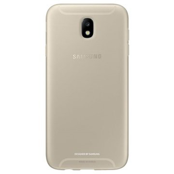 Samsung Galaxy J7 (2017) Jelly Cover goud