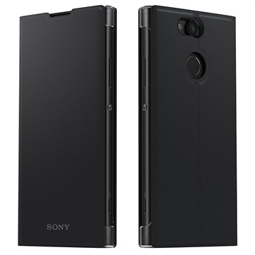 Sony Style Cover Stand SCSH10 v. Xperia SM12 zwart