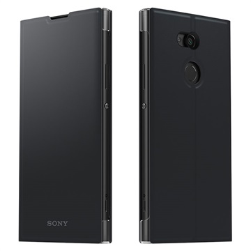 Sony Xperia XA2 Ultra Style Cover Stand Zwart voor Xperia XA2 Ultra