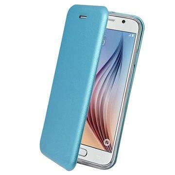 Samsung Galaxy S6 PT Line Full Coverage Wallet Case Blauw