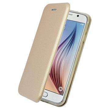 Samsung Galaxy S6 PT Line Full Coverage Wallet Case Goud