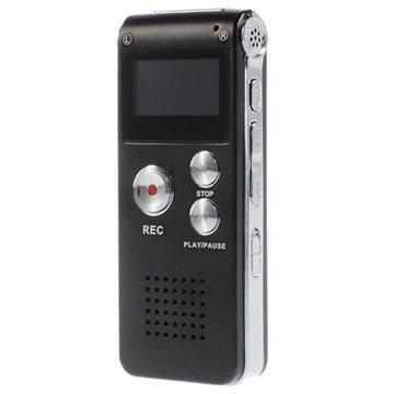 Draagbare Dictafoon SK-012 Zwart