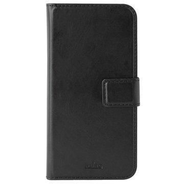 iPhone 6 Plus/6S Plus Puro Milano Wallet Hoesje Zwart