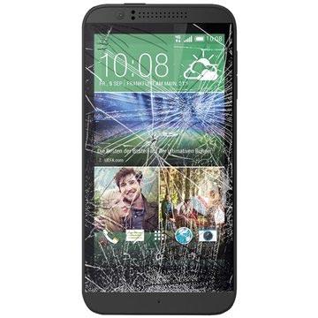 HTC Desire 510 Displayglas Reparatie Zwart