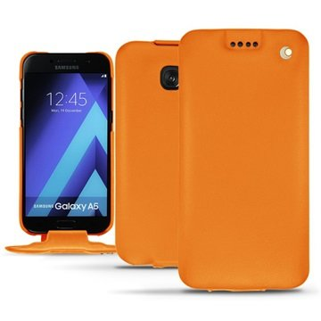 Samsung Galaxy A5 (2017) Noreve Tradition Flip Cover - Oranje
