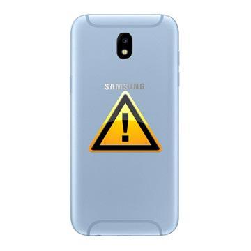 Samsung Galaxy J5 (2017) Batterij Cover Reparatie Blauw