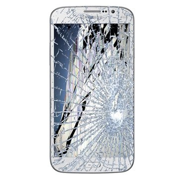 Samsung Galaxy Mega 6.3 I9200 LCD & Touchscreen Reparatie Wit