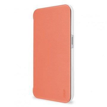 Samsung Galaxy S6 Artwizz SmartJacket Flip Case Abrikoos