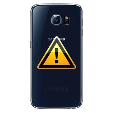 Samsung Galaxy S6 Batterij Cover Reparatie Zwart