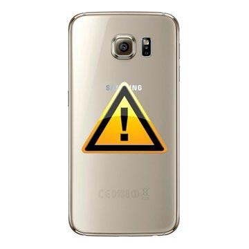 Samsung Galaxy S6 Batterij Cover Reparatie Goud