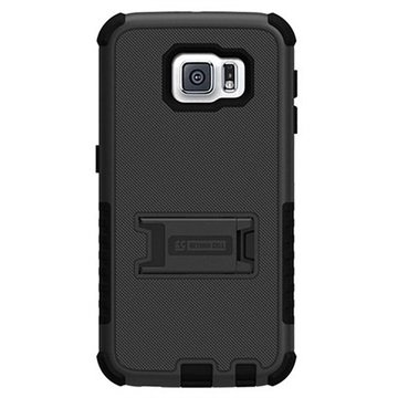 Samsung Galaxy S6 Beyond Cell Tri Shield Hybrid Cover Zwart