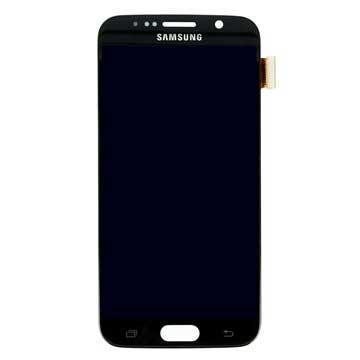 Samsung Galaxy S6 LCD Display GH97-17260A Zwart