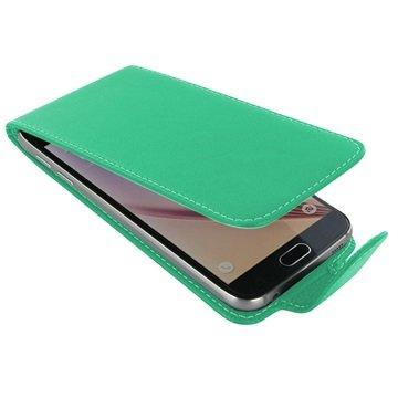 Samsung Galaxy S6 PDair Leren Case NP3QSSS6FX1 Aqua
