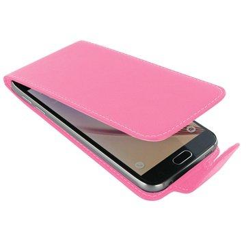 Samsung Galaxy S6 PDair Leren Case NP3JSSS6FX1 Roze